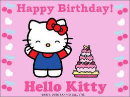 Hello Kitty Birthday Invitation Card Hello Kitty Birthday Wallpapers Wallpaper Cave