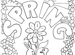 free springtime coloring pages springtime coloring pages