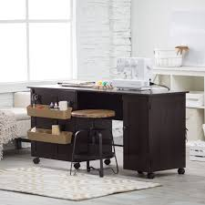 Harbor View Craft Armoire Craft Desk With Storage Diy Craft Table From Thrifty Decor