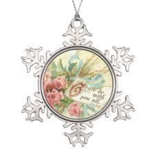 bible verse flower ornaments keepsake ornaments zazzle