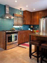 2 Tone Kitchen Cabinets by Red Kitchen Cabinets Pictures Ideas U0026 Tips From Hgtv Hgtv