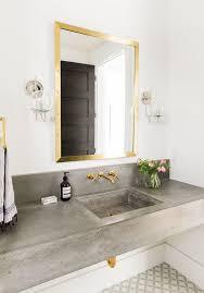 Interieur Aus Holz Und Beton Haus Bilder Bad Trends Beton Messing Schick Badezimmer Ideen Pinterest