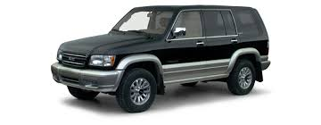 2000 isuzu trooper overview cars com