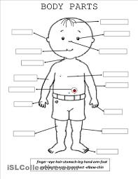 esl worksheets body parts pinterest worksheets english and