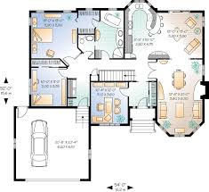 traditional house floor plans house plan 65085 at familyhomeplans com