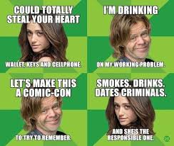 Comic Con Meme - shameless showtime comic con memes zimbio