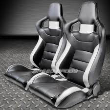 nissan 350z for sale nz 2 x pvc leather high head racing seats bracket for 03 08 nissan
