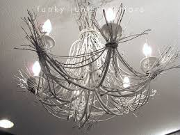 lighting up my life with a twig chandelierfunky junk interiors