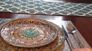 interior design tips how to set a beautiful table for a dinner