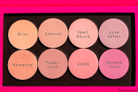 makeup geek blushes bliss cherish puppy love romance spell bound