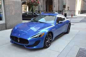 maserati blue 2014 maserati granturismo stock m151 s for sale near chicago il