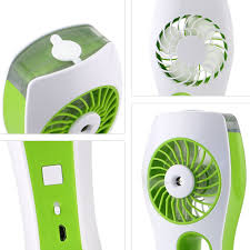 Patio Fans With Misters by Iegrow Handheld Usb Mini Misting Fan With Personal Cooling