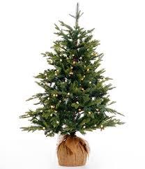 trimsetter 4 ft pre lit burlap wrapped tree dillards
