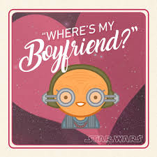 wars valentines day cards wars s day card where s my boyfriend jedi