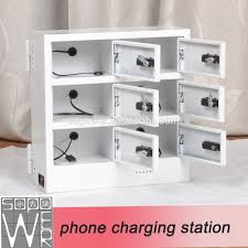 sopower phone charging station 6 docks automatic mobile phone