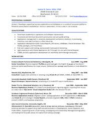 Business Analyst Profile Resume Etl Resume Free Resume Example And Writing Download