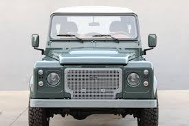 vintage land rover defender restored land rover defender is perfect for playtime columnm