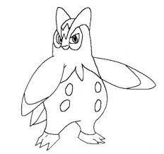 draw prinplup step step pokemon characters anime