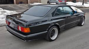 1990 mercedes benz 560sec amg 6 0 widebody is badass but is it