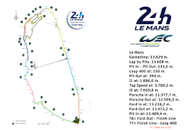 map of le mans wec everything you need to for this year s le mans 24 hours