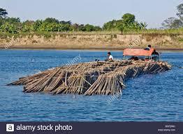 myanmar burma lay mro river floating bamboo down the lay myo