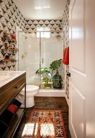 bathroom wallpaper for the final touch wearefound home design