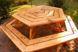 Free Octagon Picnic Table Plans Pdf by 6 Sided Picnic Table Plans Pdf Woodworking