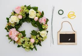 wedding wreaths 5 step diy wedding wreath tutorial the koch