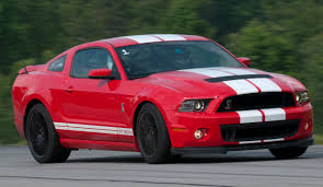 Black Mustang Red Stripes Race Red 2013 Ford Mustang Shelby Gt 500 Coupe Mustangattitude