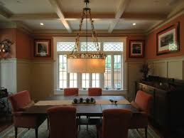 craftsman dining room home design ideas