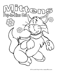 coloring pages elf fun with pop in kins
