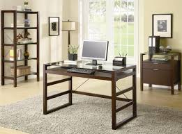 Beautiful Home Offices Fair 30 Glass Home Office Desks Inspiration Of Perfect