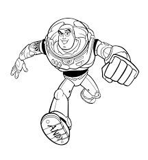 lightyear coloring pages woody buzz and sheriff inside buzz