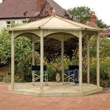 8 Sided Wooden Gazebo by Grange Regis Octagonal Wooden Garden Gazebo Internet Gardener
