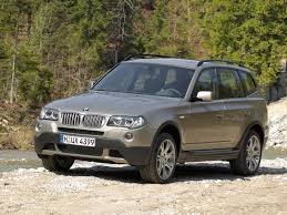 automotive database bmw x3 e83