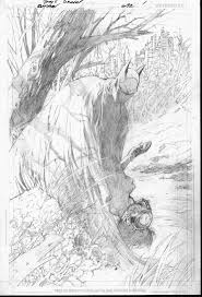 take a look at some of tony daniel u0027s pencils for batman 692 dc