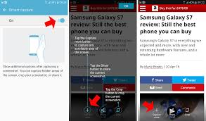 screencap android how to take a screenshot on samsung galaxy s7 tech advisor