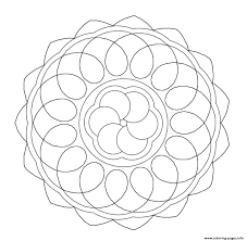 easy mandala sc4f9 coloring pages printable
