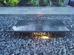 modern water feature modern gardens chelmsford simple water feature