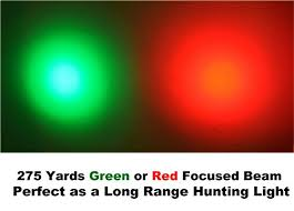 night hunting lights for scopes amazon com orion predator h30 red 273 yards long range