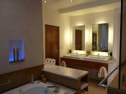 bathroom recessed lighting ideas oval etched glass stainless steel