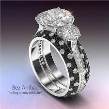 rings large stones images Three stone engagement rings jpg