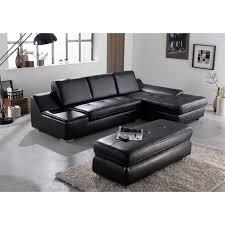 canapé et pouf assorti calgary canapé d angle droit avec pouf en simili 5 places