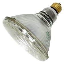 sylvania 15558 250w halogen light bulb par38 flood 4 500 life