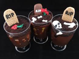 graverobber pudding cup treats for halloween youtube
