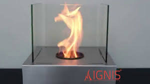 ethanol fireplace cube tabletop ventless fireplace by ignis