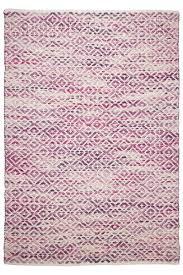 teppich rund rosa marke tom tailor teppich smooth comfort diamond rosa