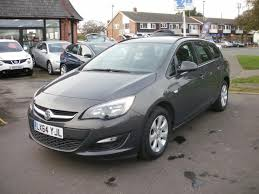 vauxhall grey used 2014 vauxhall astra design estate automatic for sale in