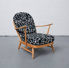 Ercol Windsor Rocking Chair Jon Burgerman Ercol Windsor Retro Chairs Reloved Upholstery