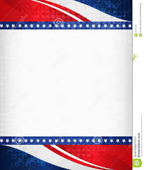 American Flag Backdrop Patriotic Border Stock Vector Illustration Of Celebrate 41047257
